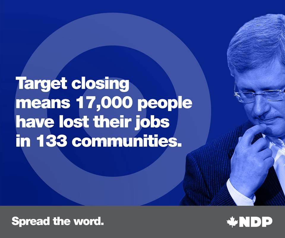 NDP Target job loss