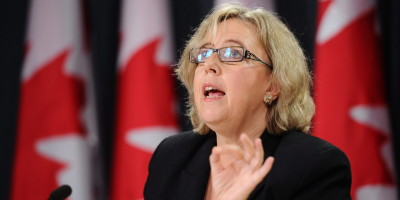"Elizabeth May: Canada's emissions target is ""incompatible with the Paris Agreement"""