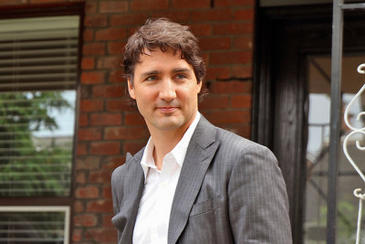 "Justin Trudeau: ""By denying climate change, [Stephen Harper] denied Canadians opportunity."""