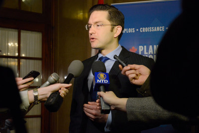"Pierre Poilievre: ""Everybody has some sort of ID to show who they are."""