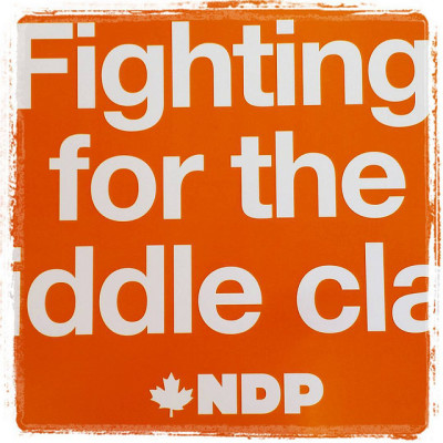 "NDP: ""Canadians are already footing the bill for Harper's early election call – as much as a billion dollars."""