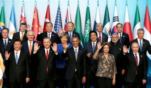 Leaders at G20