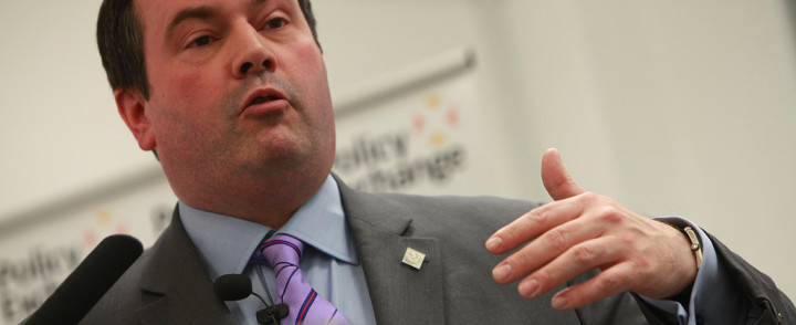 "Jason Kenney: The Liberals would be ""the first government of a major democracy to change the electoral system without a direct popular mandate expressed in a referendum."""